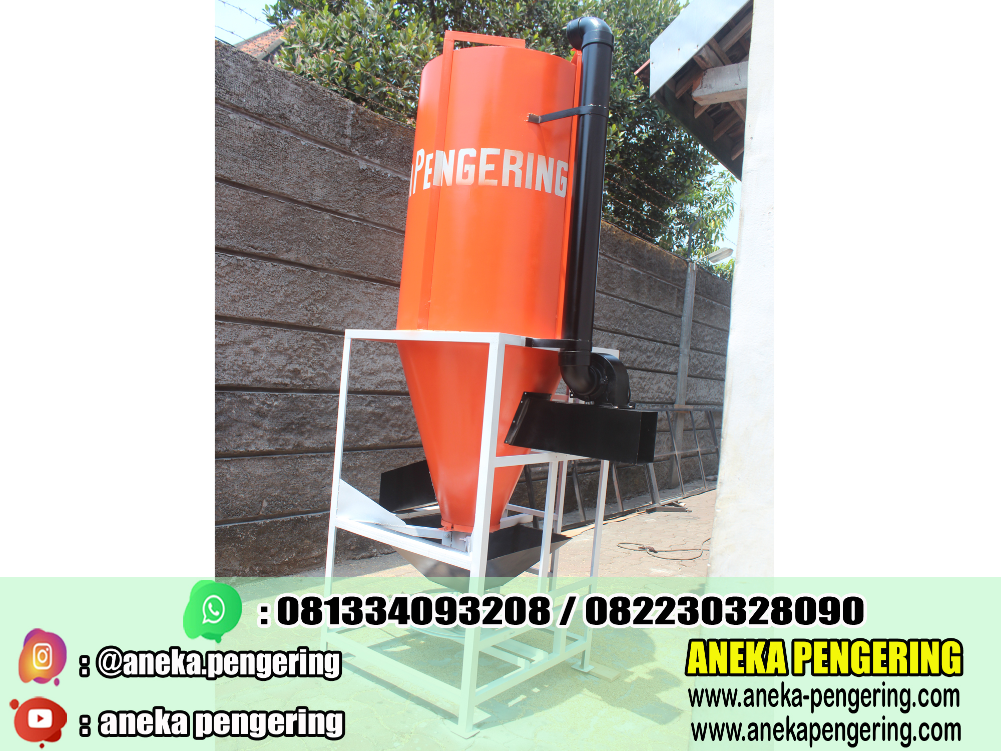 vertical dryer, alat pengering vertical dryer, mesin pengering vertical dryer