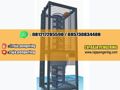 vetikal dryer, vertical dryer, mesin pengering padi